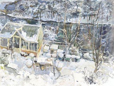 Duncan shanks-winter painting