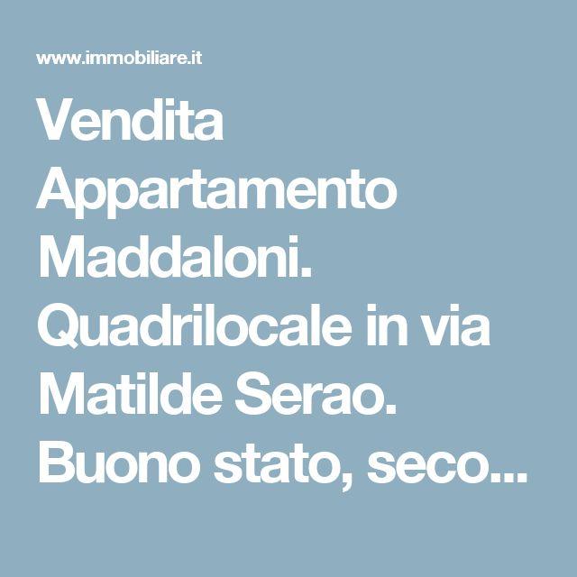 Vendita Appartamento Maddaloni. Quadrilocale in via Matilde Serao. Buono stato, secondo piano, balcone, riscaldamento autonomo, rif. 62860980
