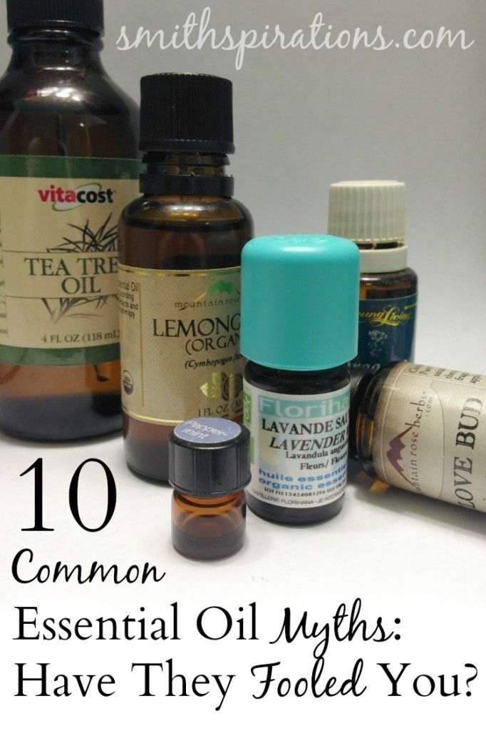 10 Common Essential Oil Myths: Have They Fooled You?  Misinformation regarding essential oils can lead to very negative consequences. Don't let these ten common myths fool you.