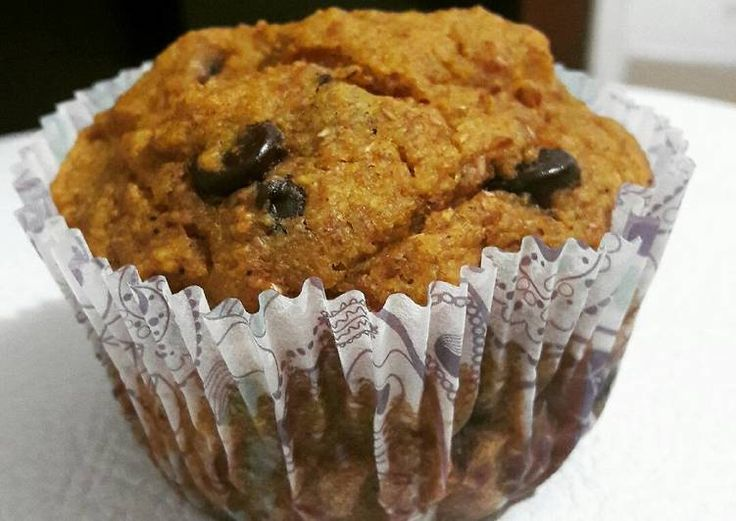 Muffins veganos de calabaza
