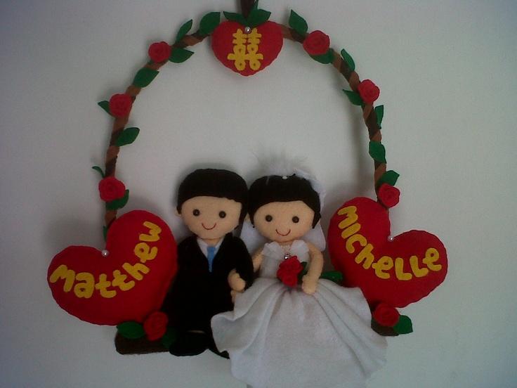 for michelle wedding..:)