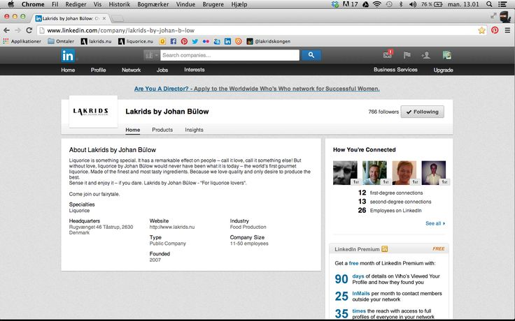 We are on LinkedIn! Stay tuned there for future opportunities: http://www.linkedin.com/company/lakrids-by-johan-b-low