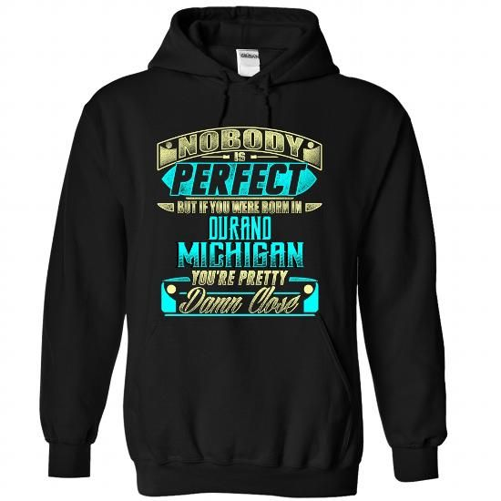 Born in DURAND-MICHIGAN P01 - #gift packaging #gift sorprise. PURCHASE NOW => https://www.sunfrog.com/States/Born-in-DURAND-2DMICHIGAN-P01-Black-Hoodie.html?68278