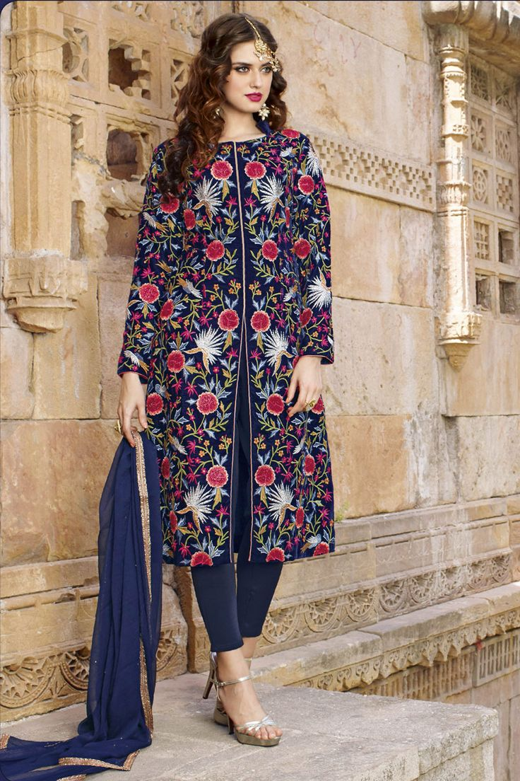 #HAPPY‬ #RAKSHABANDAN‬ Buy This Navy Blue Viscos Satin Traditional Straigh Cut Salwar Kameez with Embroidery Work. Buy Now:- http://www.lalgulal.com/…/navy-blue-viscos-satin-traditiona… #CashOnDelivery‬ & #FreeShipping‬ only in India. For Other Query Just Whatsapp Us on +91-9512150402 Or Mail Us at info@lalgulal.com.
