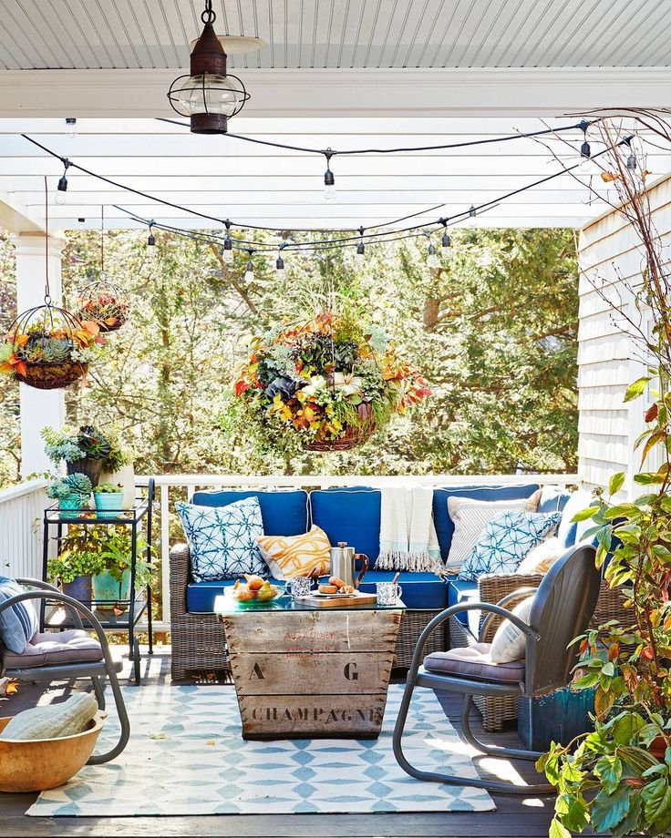 """22.5k Likes, 136 Comments - Country Living (@countrylivingmag) on Instagram: """"We have MAJOR porch envy. #CLdecor #springfever #dreamhouse (📷: David A. Land)"""""""