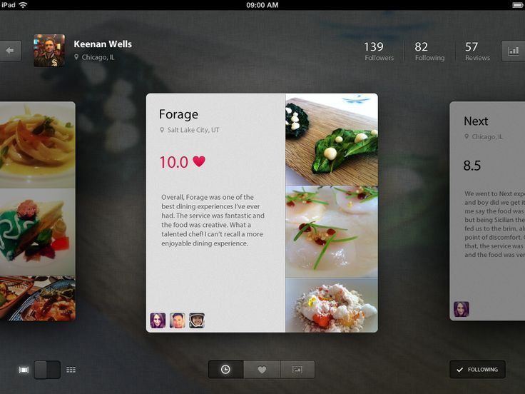 foodie for IPad by Keenan Wells