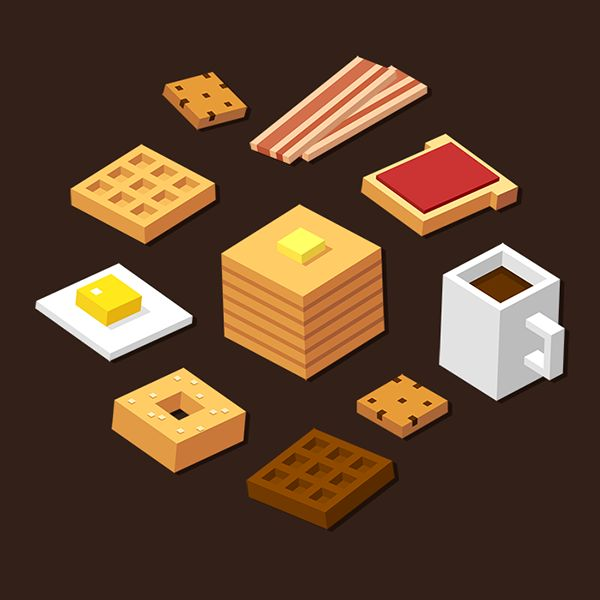 Isometric stock illustrarions