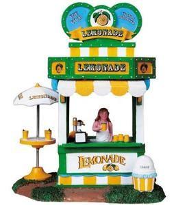 lemax carnival lemonade stand play kitchens pinterest petits pots de confiture bouteille. Black Bedroom Furniture Sets. Home Design Ideas