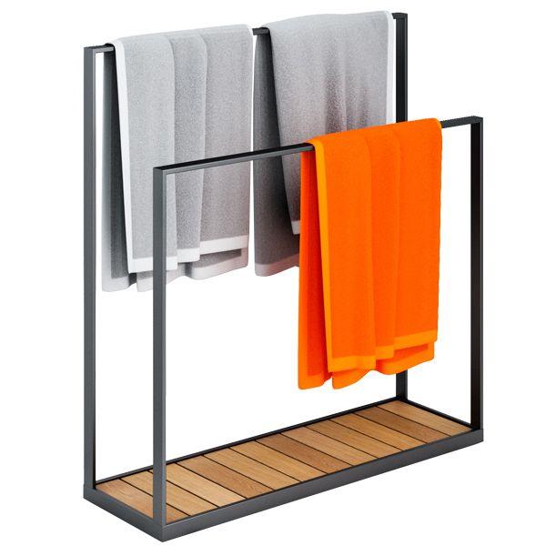 Garden towel hanger by Röshults.