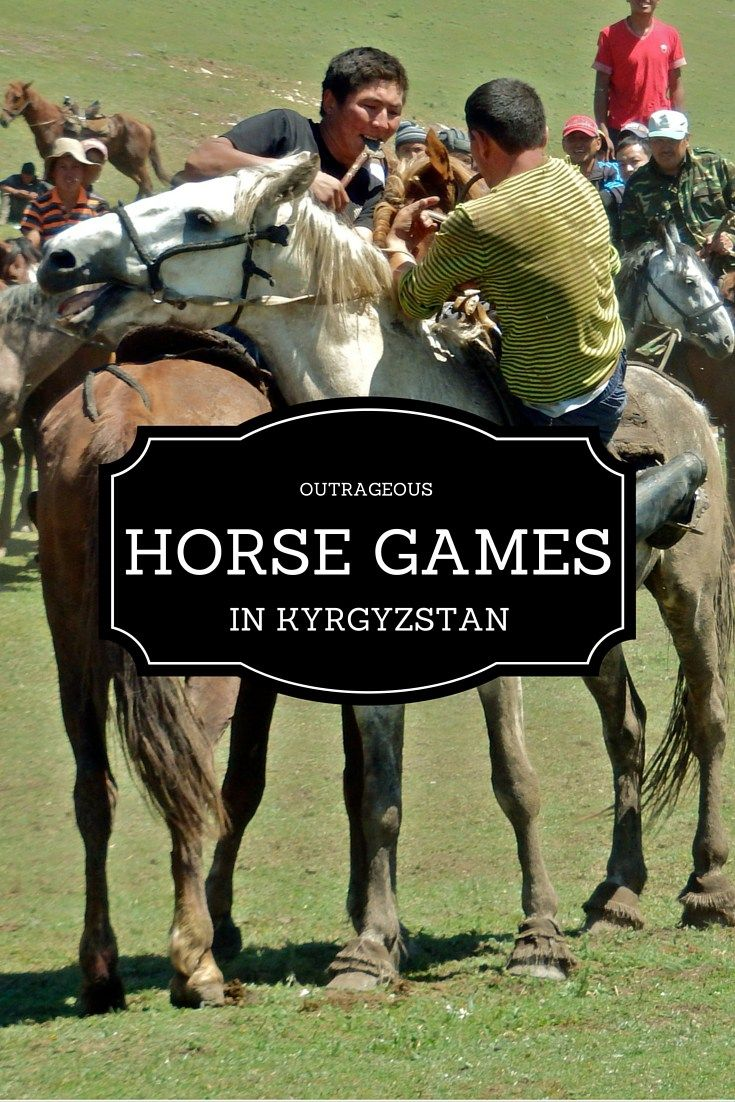 Kok Buru is a nomadic horse game played in Kyrgyzstan. Each player chases a dead goat carcass, the game is never boring, and there is frequent body contact!
