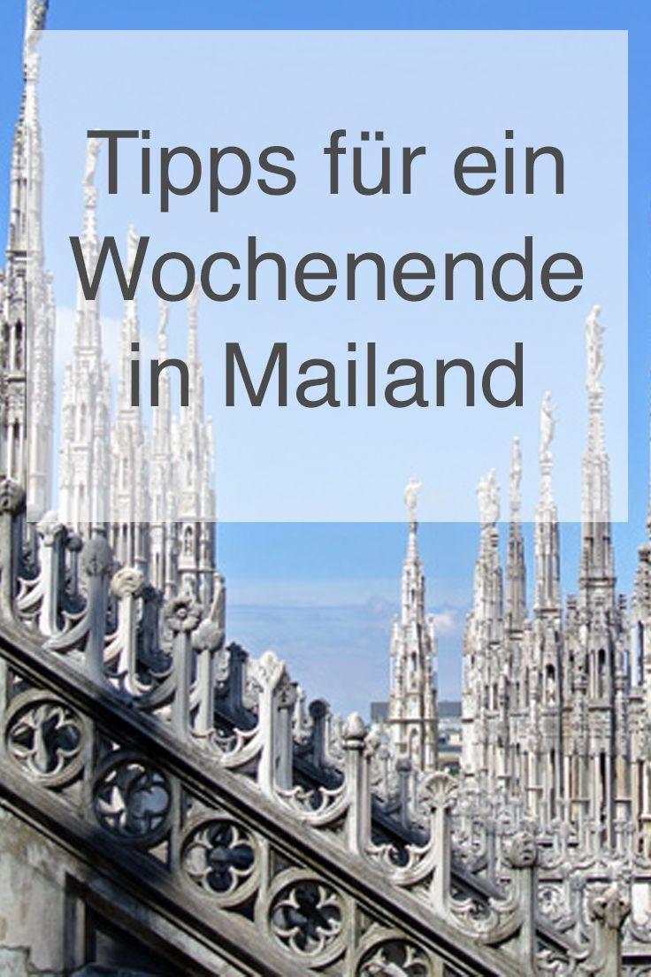 Meine Tipps für ein Wochenende in Mailand findet ihr hier: https://www.christineunterwegs.com/reisen/italien/reisen-mailand/