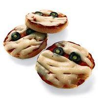 pizza mummies - kid halloween party