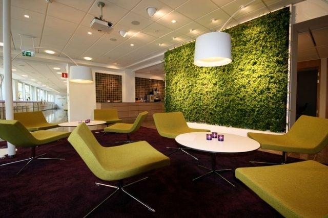 Wohn-und Arbeitsräume begrünen-nachhaltiger vertikaler Garten als Trennwand