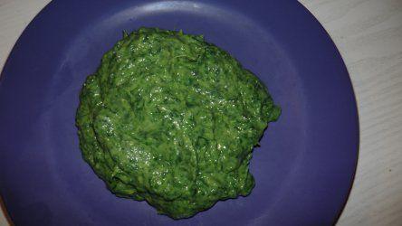 spinazie ala creme met avocado ipv room
