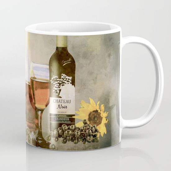 Available in 11 and 15 ounce sizes, our premium ceramic coffee mugs feature wrap-around art and large handles for easy gripping. Dishwasher and microwave safe, these cool coffee mugs will be your new favorite way to consume hot or cold beverages.  - #SALE #Free shipping today! #Tuscany #dreams #art #home #decor