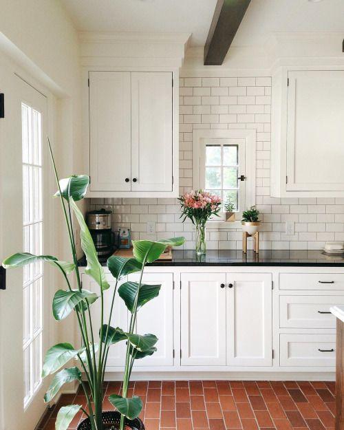 17 Best Ideas About Brick Floor Kitchen On Pinterest