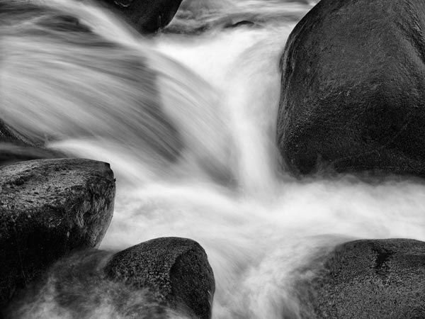 Lynn Creek #17 - captured with a 60.5 megapixel digital back (very high resolution) - by Michael Easton at naturphoto.com