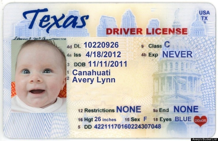 Get my drivers license with a great picture drivers