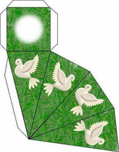 Materiales gráficos Gaby: Varias plantillas de cajas de regalo listas para imprimir y armar