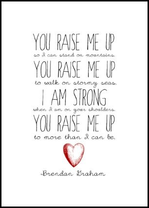 """To all my Choir classmates we sang this song at our choir concert last night. Btw this song is called """"You Raise Me Up"""""""