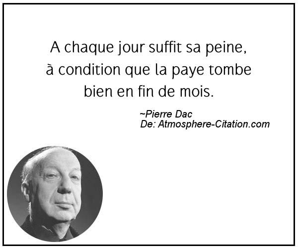 Citation de Pierre Dac – Proverbes Populaires