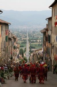 Palio della Vittoria in Anghiari, Tuscany