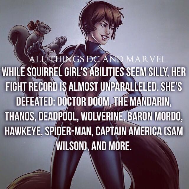 Squirrel Girl fight record