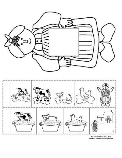 big idea coloring pages | Mrs. Wishy Washy Coloring Pages | Kindergarten reading ...