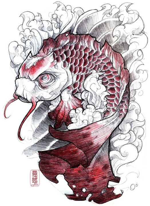 1000 images about koi tattoo ideas on pinterest for Japanese koi names