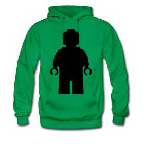 $45.00 Men's LEGO Hoodie - All Sizes & Colors #lego #silhouette #man #character #legos #blocks #building #bricks #set #box #boxes #pieces #people #builders #players #game #gaming #games #movie #movies #animation #outline #art #design #hoodie #mens #sweater #clothing #apparel #clothes #gift #poster #wallpaper #shipping #worldwide #buy #toys #online