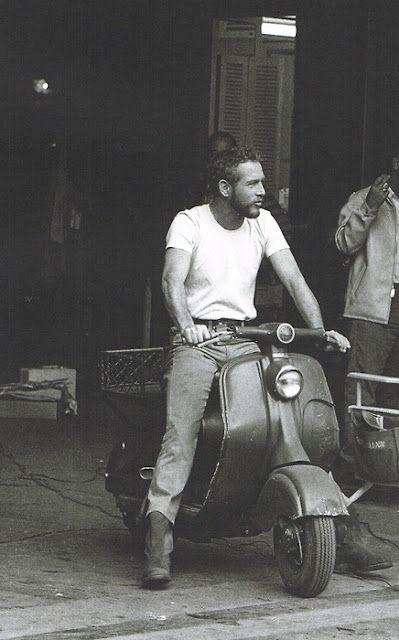 Sweet ride, Newman. (via N'east Style)