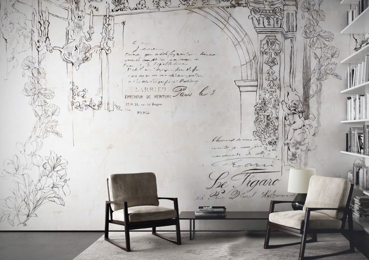 Carta da parati LittleBook Mural wallpaper, Vinyl