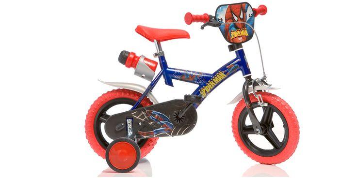 Vélo enfant SPIDERMAN - 12 pouces - Zoom