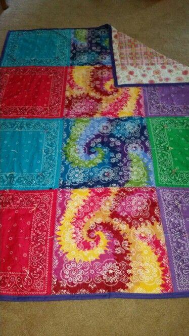Bandana Quilt Quilts Pinterest Bandana Quilt