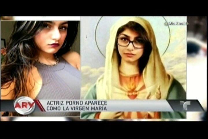 Actriz Porno Causa Revuelo Tras Super Poner Su Rostro En Una Imagen De La Virgen