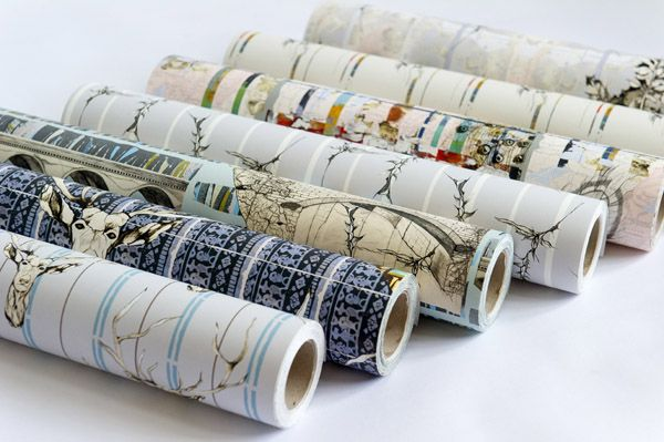 Luxury Wallpaper, 180gsm coated non-woven wallpaper, 52cm x 10m rolls