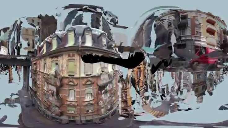 360° Animation: Zurich2.0, Musical Interpretation Niki Reiser / 鍛冶choice