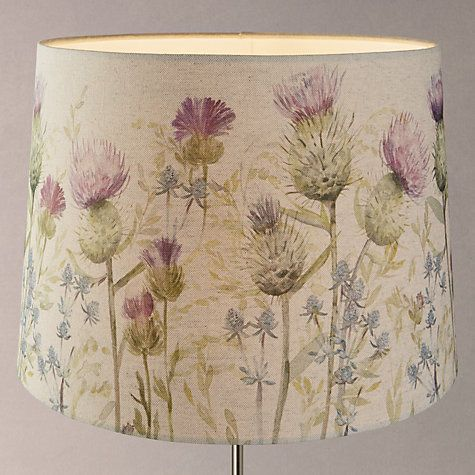 Buy Voyage Thistle Tapered Lamp Shade Online at johnlewis.com