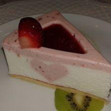 Strawberry-Yogurt Valentine Cake (Zila Cube Mold)