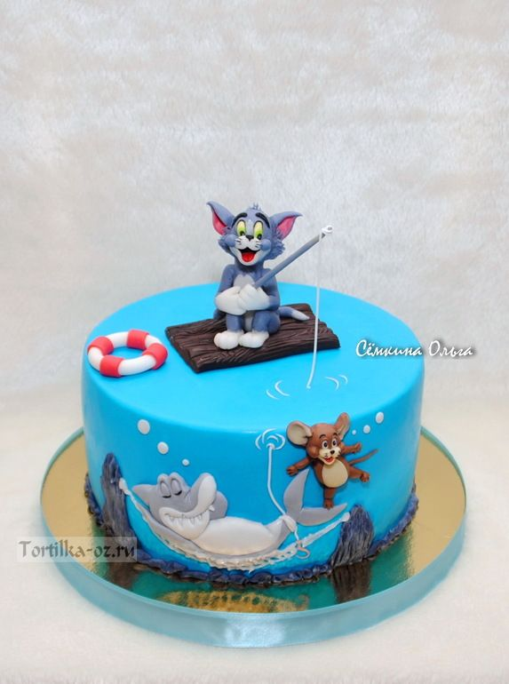 181 Best Cakes Tom Jerry Images On Pinterest Amazing Cakes