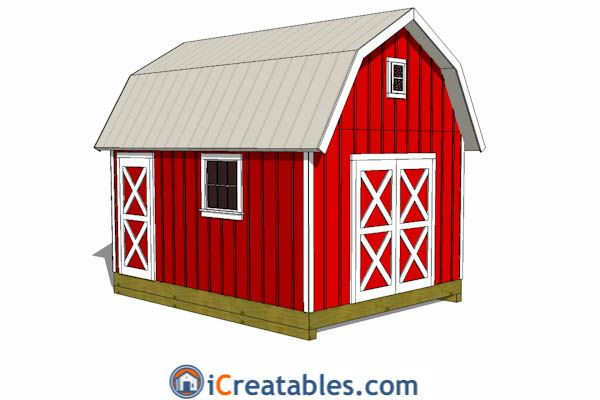 13 best 10x16 Shed Plans images – Garden Shed Plans 10 X 16