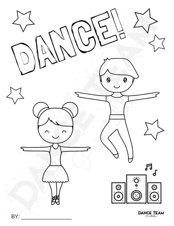 Boy Dancer Dance Activity Printable Dance Etsy In 2021 Dance Coloring Pages Coloring Pages For Boys Coloring Pages