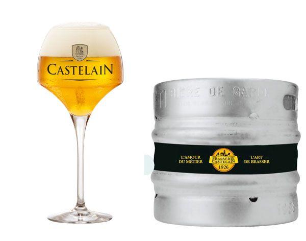 Bière Castelain Grand Cru fût pression 20 litres #biere #gastronomie