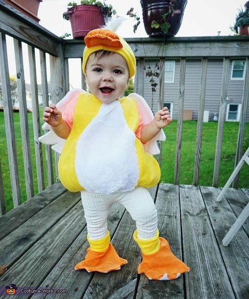 Baby Duck - 2016 Halloween Costume Contest