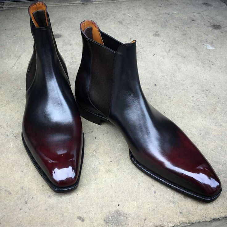 Men S Black Shoes Red Soles