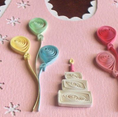 Quilling with Fun: September 2010 (love these shapes)