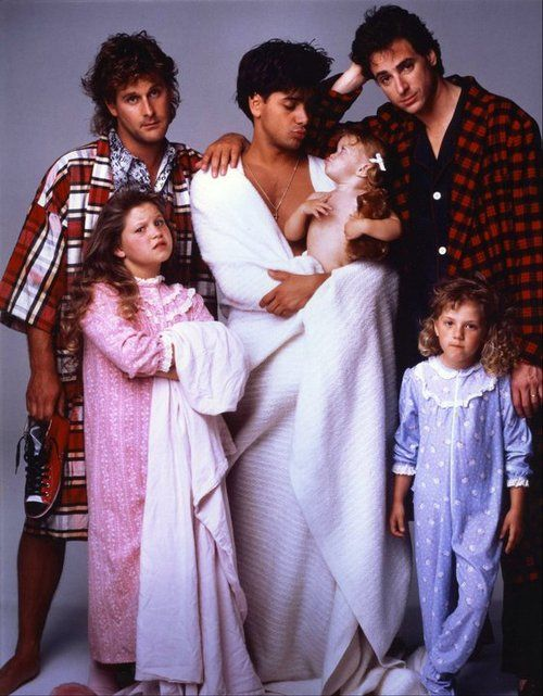 "full house, or as my kids called it ""Uncle Jessie""  part of friday night party night...TGIF!"