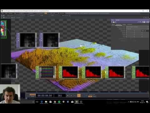 Audio spectrum wave pinboard, TouchDesigner tutorial - YouTube