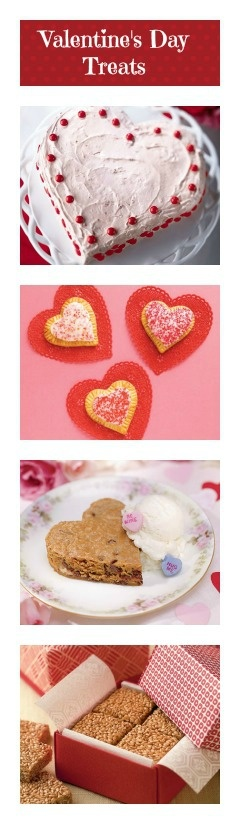 "There's no sweeter way to say ""Be Mine"" than with this collection of Valentine's Day cakes, cookies, and other treats."