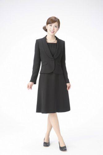 Amazon.co.jp: (マーガレット)marguerite m420 ブラックフォーマル レディース アンサンブル 礼服: 服&ファッション小物